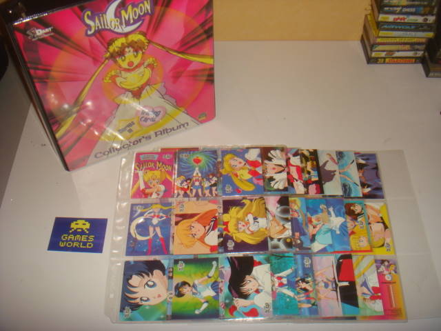 Sailor Moon Trading Cards Series 3 Complete Set in Binder