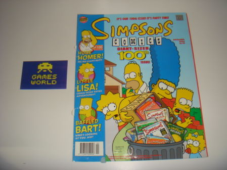 Simpsons Comics #100