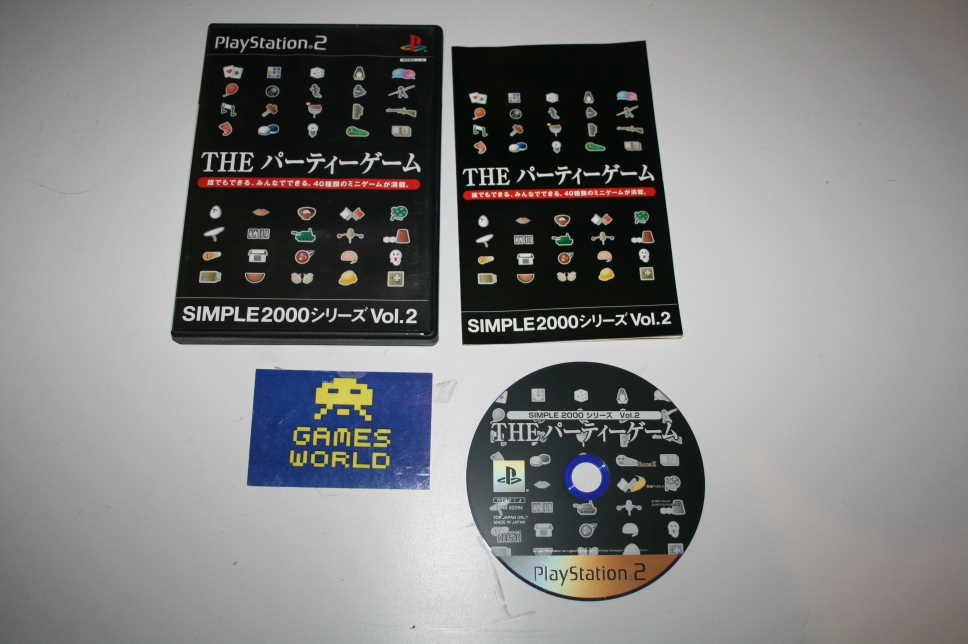 Simple 2000 Vol 2 The Party Game