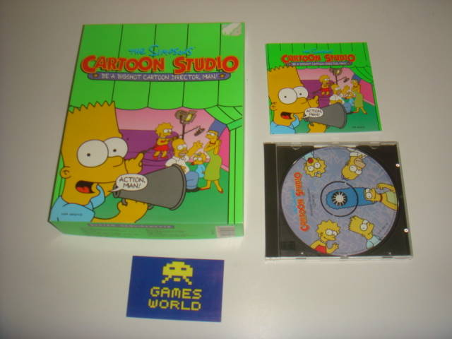 The Simpsons Cartoon Studio (Big Box)