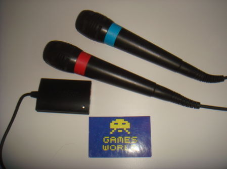 Playstation Sing Star Mics