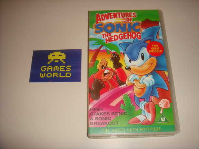 Sonic the Hedgehog VHS