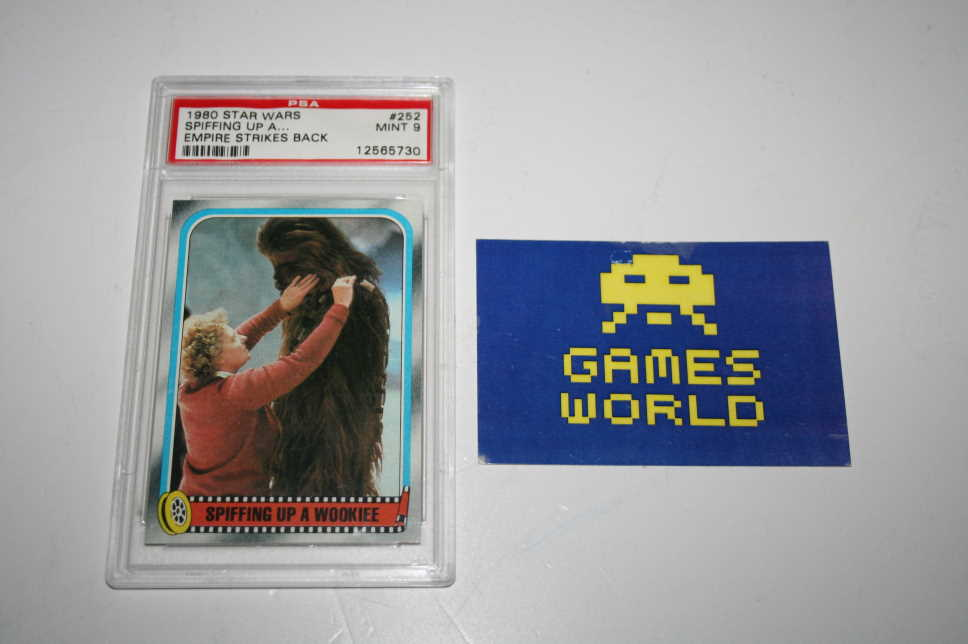 Star Wars 1980 Spiffing up a Wookiee PSA Graded 9