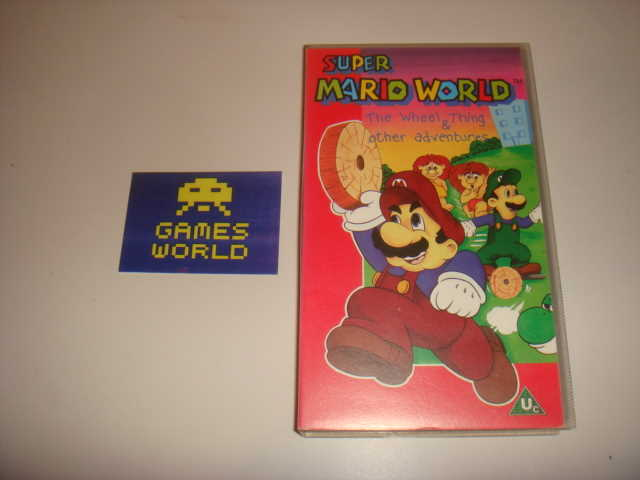 Super Mario World VHS