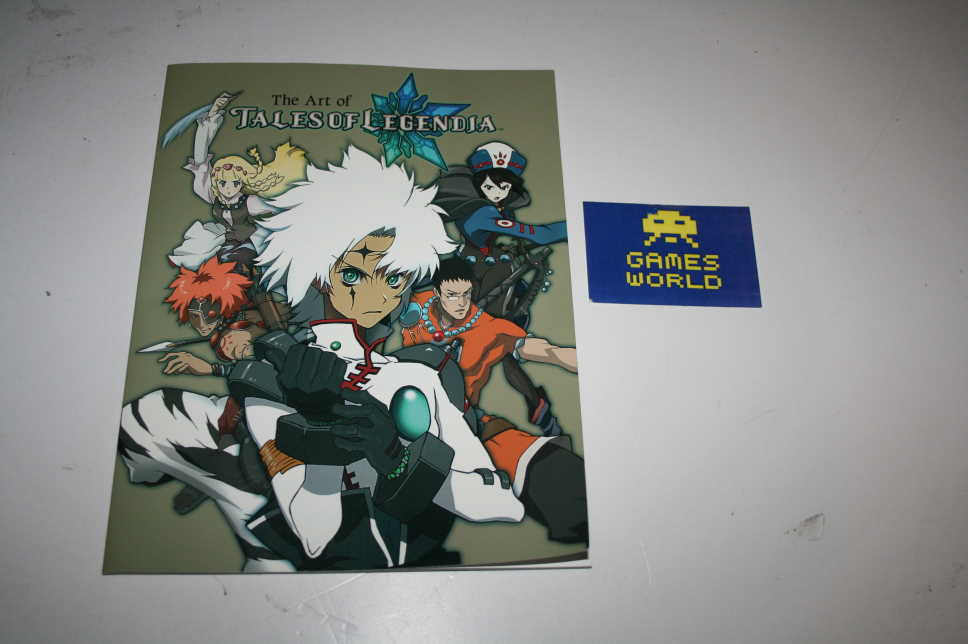 Tales of Legend Art of Book