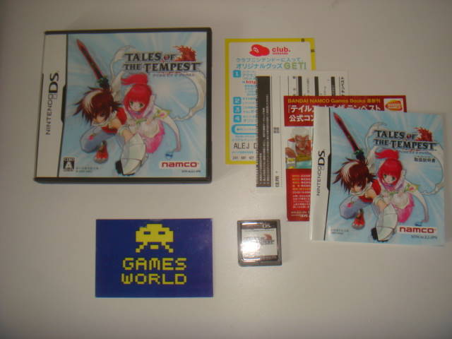 Tales of The Tempest (Japanese Import)