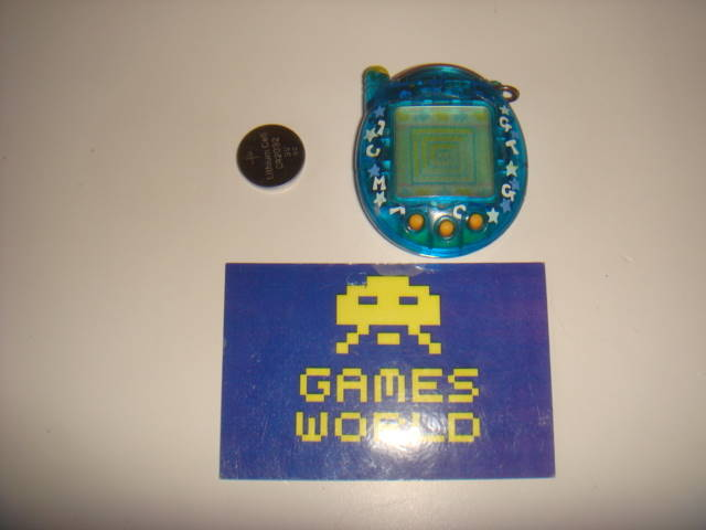 Tamagotchi V3: Clear Blue
