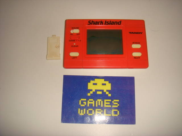 Shark Island Tandy LCD Game