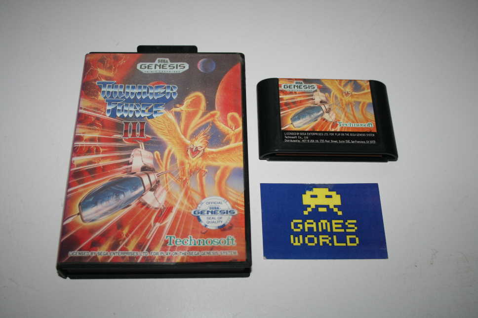 Thunder Force 3 (Genesis)