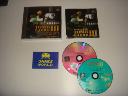 Tomb Raider 3 (Jaanese Import) - Click Image to Close