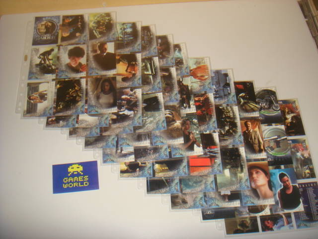 Tomb Raider Trading Cards Complete Set