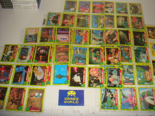 Teenage Mutant Ninja Turtles Topps Trading Cards