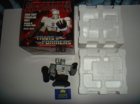 Transformers Hard Hero Bust: Megatron