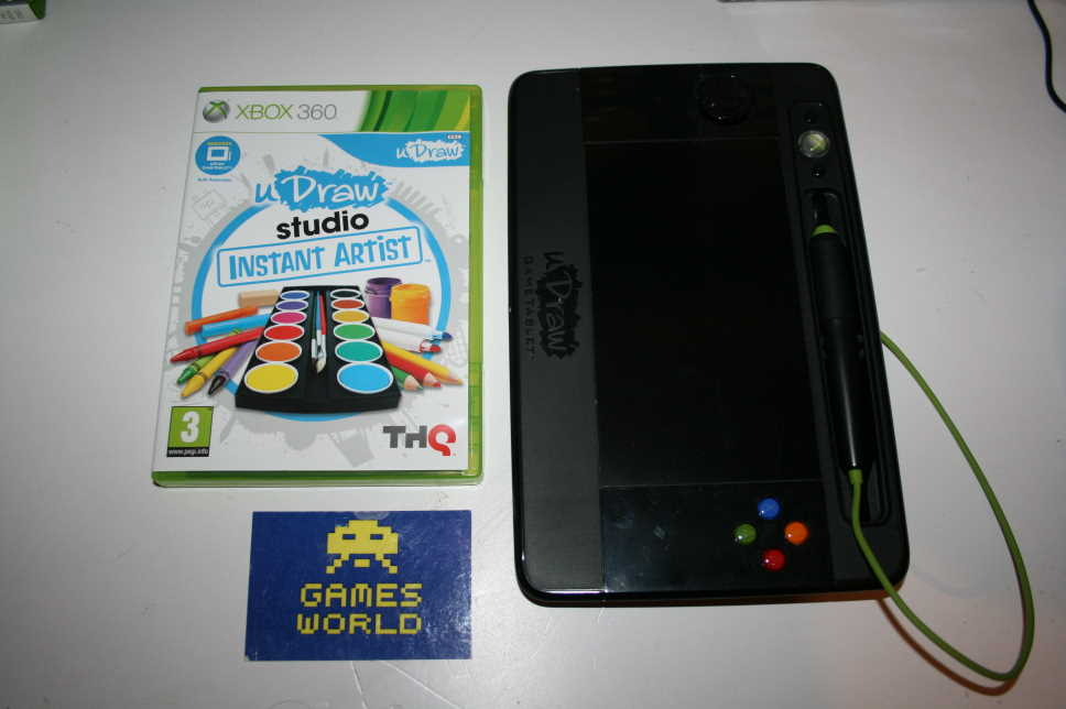 uDraw Studio Instant Artist With Pad