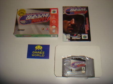 Wayne Gretzkys 3D Hockey (NTSC Import)