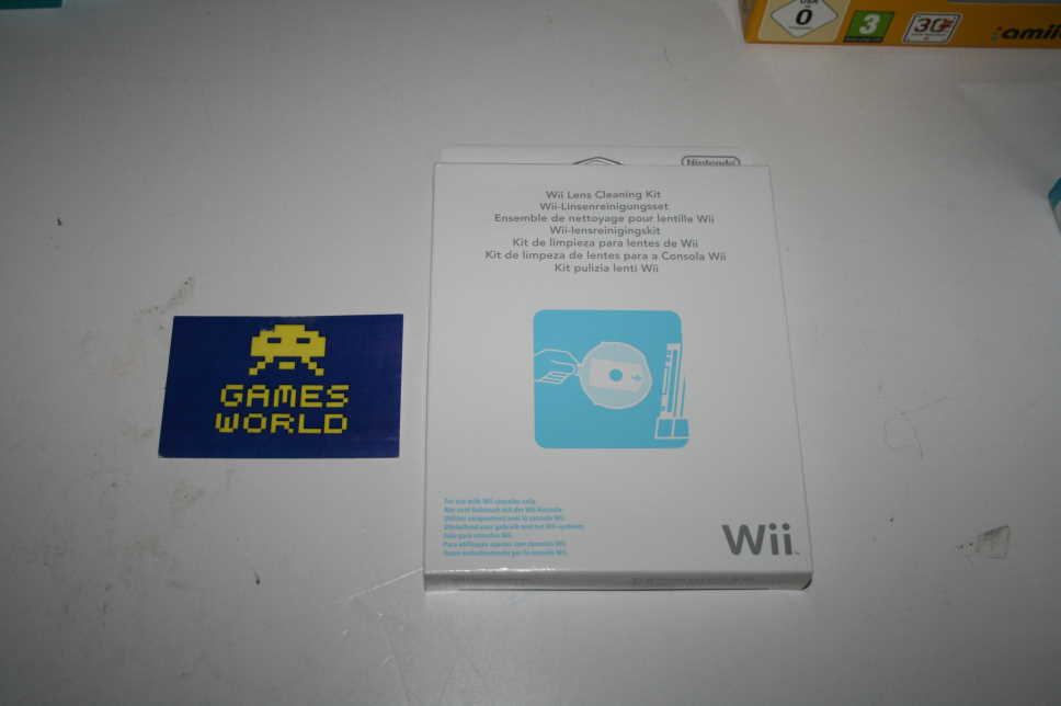 Official Nintendo Wii Lens Cleaning Kit
