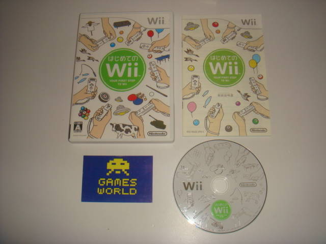 Wii Play (Japanese Import)