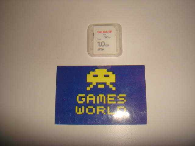 Wii SD 1gb Memory Card