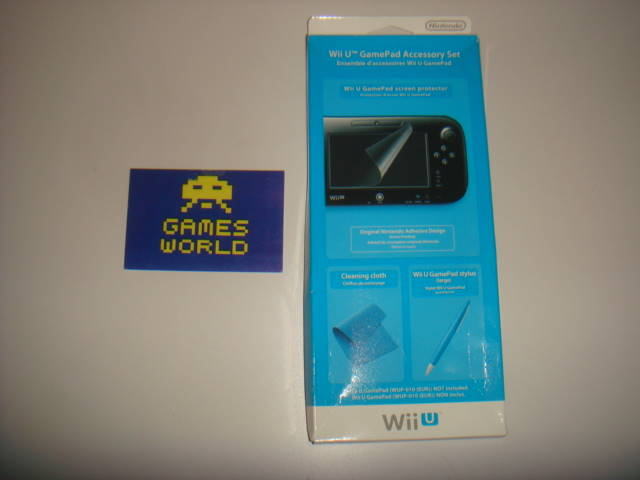 Wii U Game Pad Accessory Set