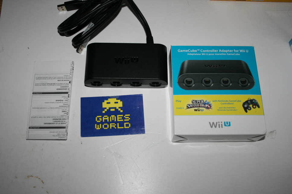 Official Nintendo Wii U Gamecube Pad Adapter