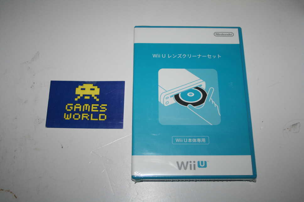 Official Nintendo Wii U Lens Cleaning Kit