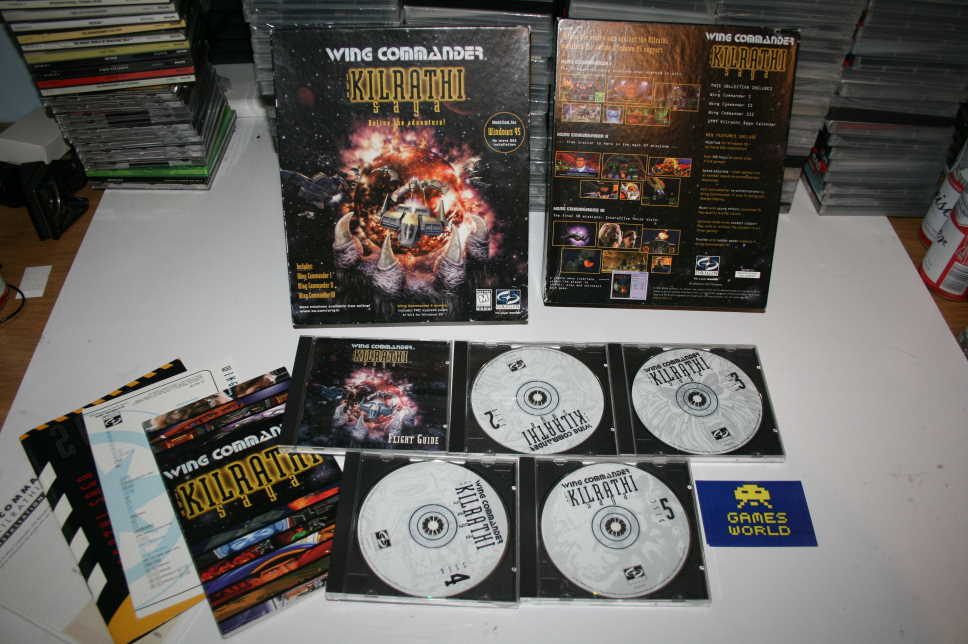 Wing Commander The Kilrathi Saga (Big Box)