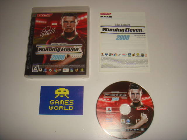 Winning Eleven 2008 (Japanese Import)