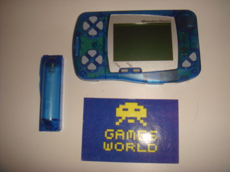 BanDai Wonderswan Black & White: Skeleton Blue