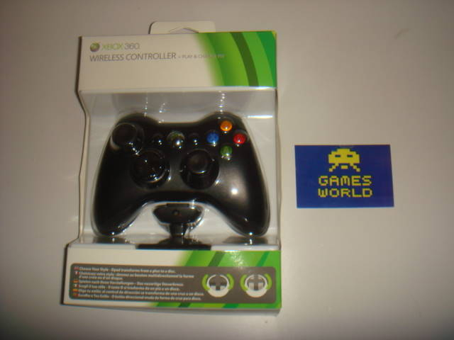 Microsoft Xbox 360 Pad with Plug & Play Kit
