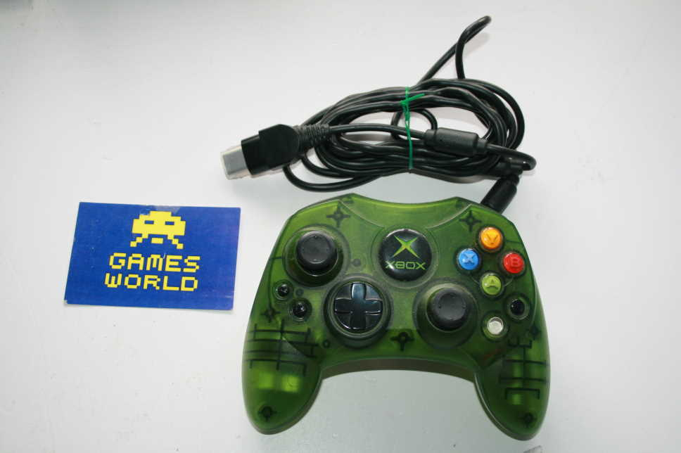 Microsoft Xbox Official S Clear Green Controller