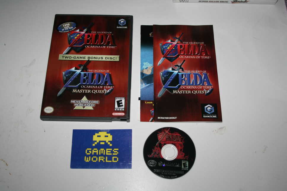Zelda Ocerina of Time Master Quest (USA Import)