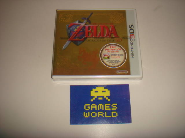 Zelda Ocarina of Time Pre Order Pack