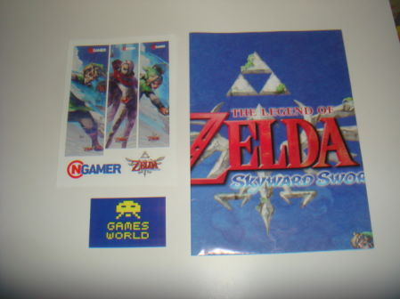 Zelda Skyward Sword Poster and Stickers