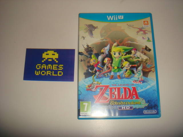Zelda Wind Waker HD - Click Image to Close